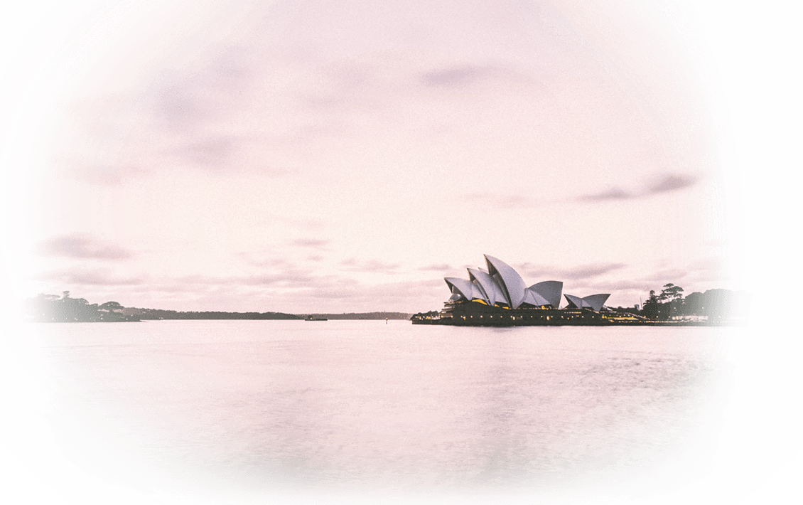 A view of the very beautiful Sydney Opera House in Sydney, NSW, Australia